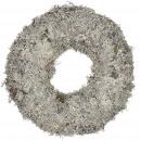 Kranz Gray Moss, diameter 40cm, natural